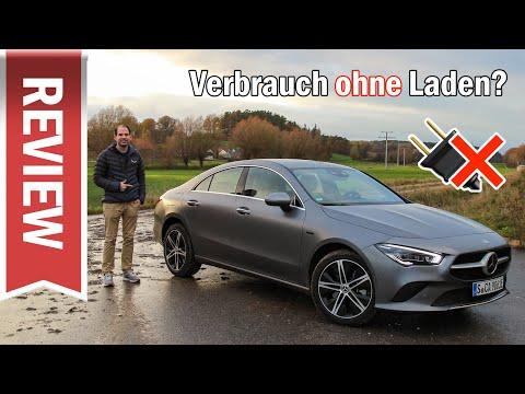 Mercedes CLA 250 e Coupé ohne Laden? Plugin-Hybrid mit 1.33 Benziner im 2.000 Km Test & Fahreindruck