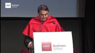 Graduación IMF – Discurso de Carlos Martínez