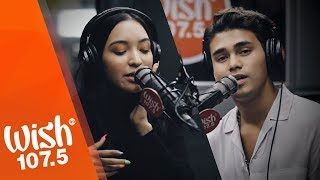 "Inigo Pascual and Akasha perform ""Adios"" LIVE on Wish 107.5 Bus"