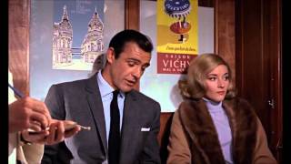 From Russia with Love,  1963 ,  Robert Shaw  train Scene  720p