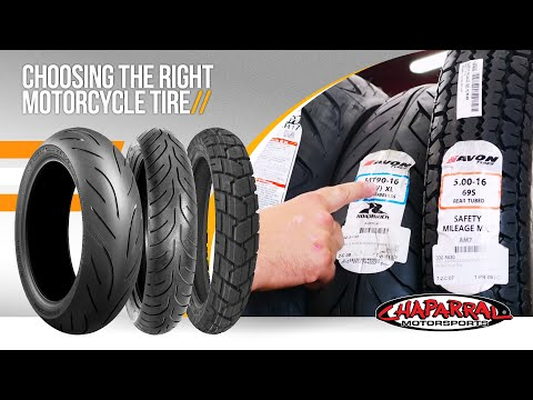 Motorcycle Tires 101 – Choosing the Right Motorcycle Tire