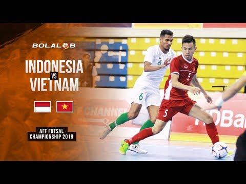 IMBANG!!!! Indonesia (0) vs (0) Vietnam - AFF Futsal Championship 2019