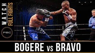 Bogere vs Bravo FULL FIGHT: August 3, 2018 - PBC on Bounce