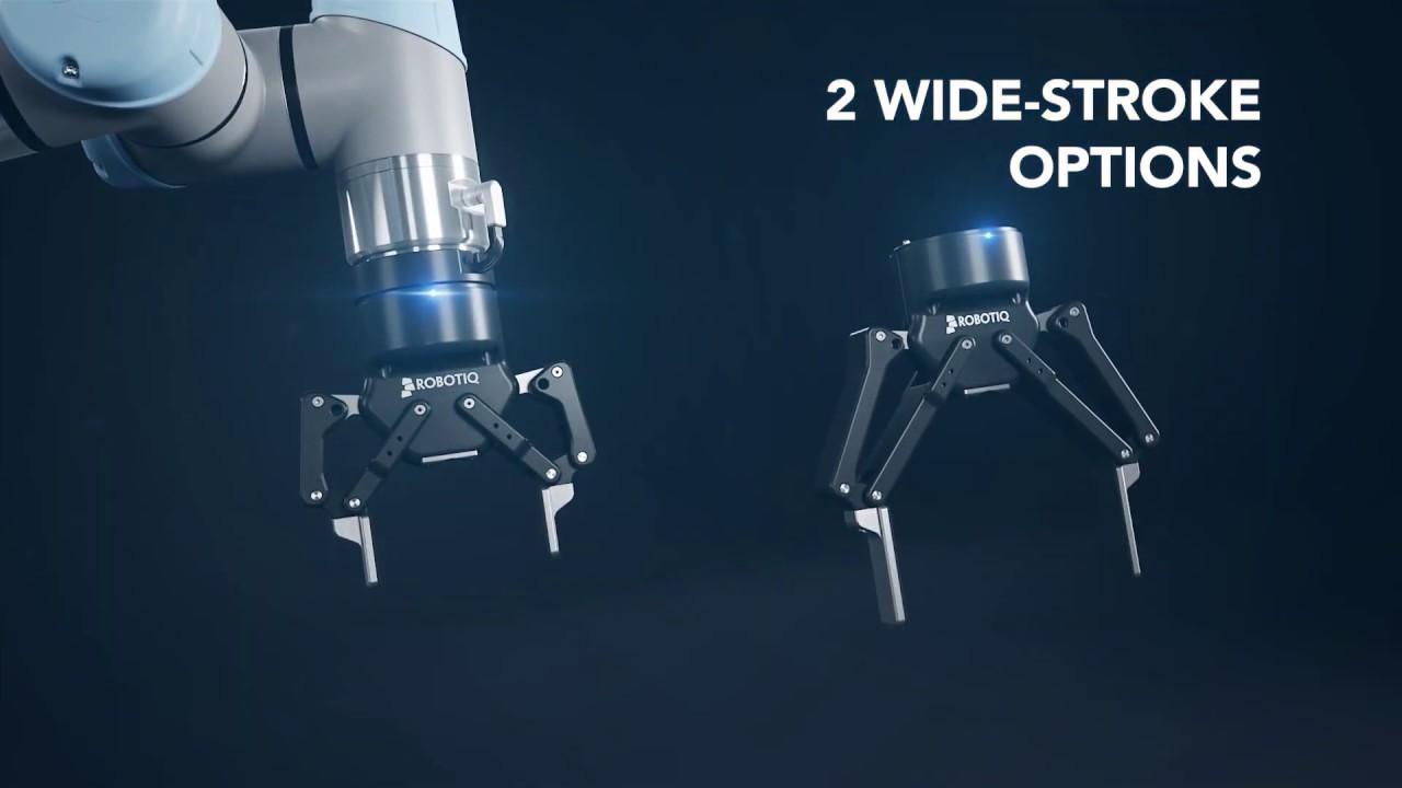 Универсальный адаптивный захват для робота Robotiq 2F-85 и 2F-140