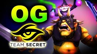 OG vs SECRET-AMAZING GAME-DPC EU DREAMLEAGUE S15 DOTA 2