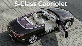 2018 Mercedes S Class Cabriolet   Interior And Exterior