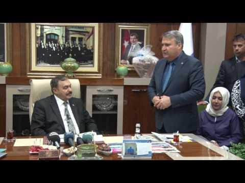 Bakan Eroğlu'ndan Başkan Çerçi'ye Tam Destek