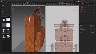 Marvelous Designer Tutorial(Leather Bag)