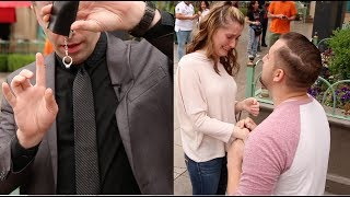 She CRIED At This Magic Marriage Proposal!