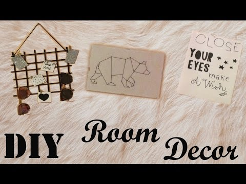 DIY room Decor (griglia per parete, porta pennelli e accessori ) TINA15