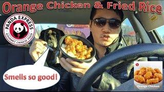Panda Express Orange Chicken & Fried Rice Review