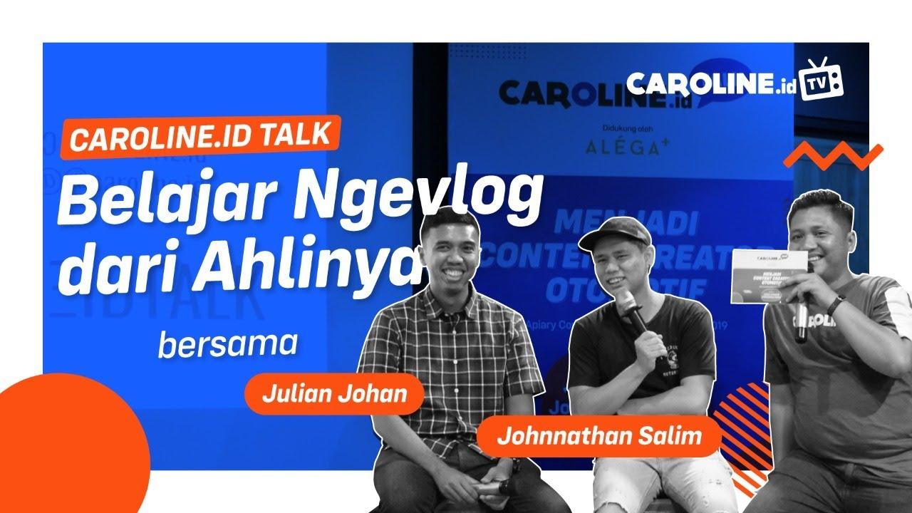 Menjadi Content Creator Otomotif - CAROLINE.id Talk Edisi #1