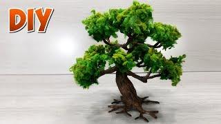 Como fazer árvores para maquetes e dioramas.