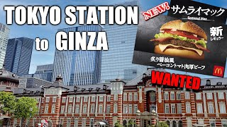Looking for New Samurai Mac in Tokyo Station, Yurakucho, and Ginza!