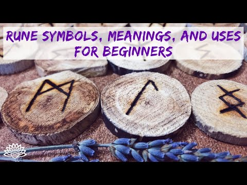 RUNE SYMBOLS MEANINGS AND USES FOR BEGINNERS