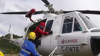 SAR Helicopter Hover Entry / Exit Training