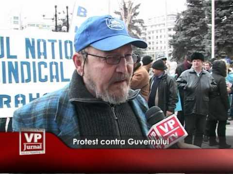 Protest contra Guvernului