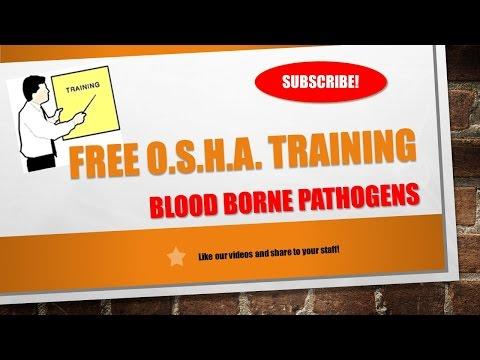 Free Blood Borne Pathogens Training per OSHA Requiremens ...