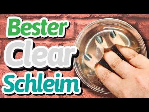 BESTER Clear Slime (deutsch) - so machst du perfekten klaren Schleim!