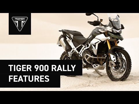 2021 Triumph Tiger 900 Rally in Greenville, South Carolina - Video 1