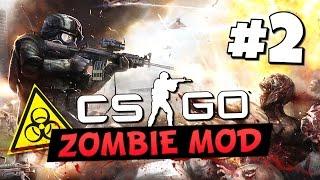 Смотреть онлайн Игра на прохождение КС ГО с зомби модом