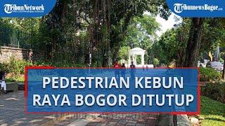 Antisipasi Adanya Kerumunan, Pedestrian di Jalur SSA Bogor akan Ditutup Total pada Sabtu-Minggu