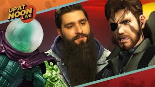 Metal Gear Director & Spider-Man's Worst Villains - Up At Noon Live!