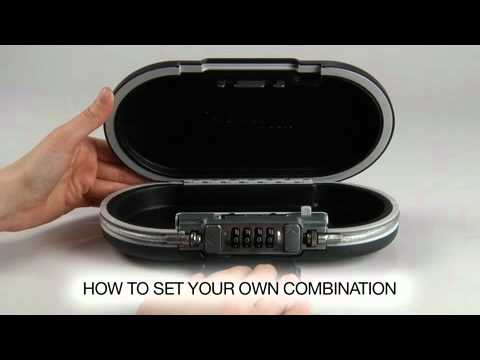 Screen capture of Operating the Master Lock 5900D SafeSpace® Portable Personal Safe