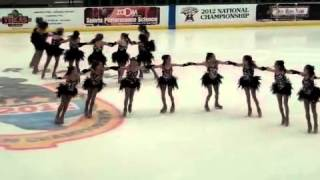 Dublin Dazzlers Long Program 2012