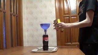 Кока кола+сода необычный опыт