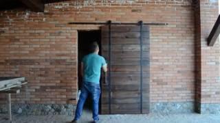 Раздвижные двери LOFT (ЛОФТ), INDUSTRIAL barn door