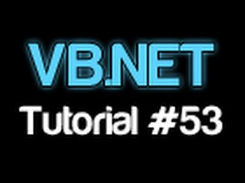 VB.NET Tutorial 53 – MultiThreading (Visual Basic 2008/2010)
