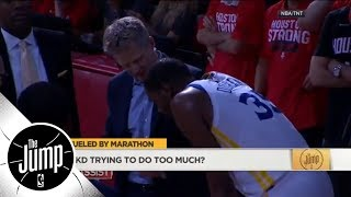 Richard Jefferson calls Steve Kerr's Game 5 message to Kevin Durant 'amazing' | The Jump | ESPN - Video Youtube