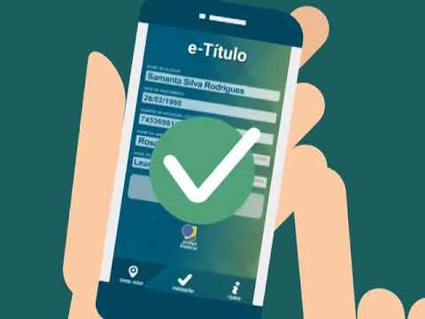 O TSE lançou um novo aplicativo que vai facilitar a vida do eleitor: o e-Título.
