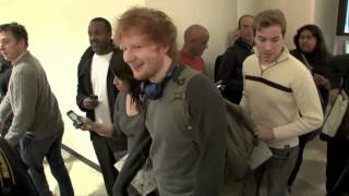 Ed Sheeran asked to be fans first kiss by her mother