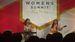 ChloeXHalle   Drop At The NFL Women's Summit 2017