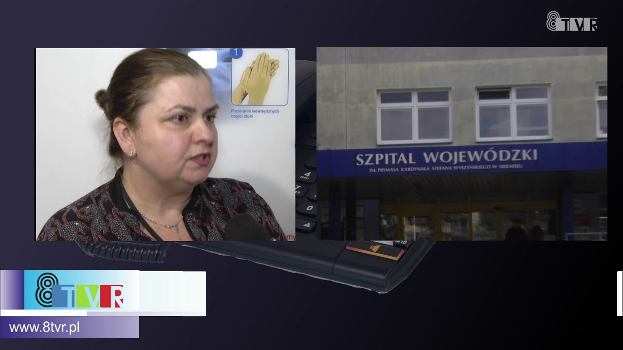 Rozmowa z Grażyną Kieszniewską rzecznikiem Szpitala Wojewódzkiego w Sieradzu