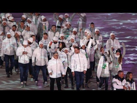 Russian flag a no-show at Pyeongchang Winter Olympics closing ceremony due IOC upholding ban