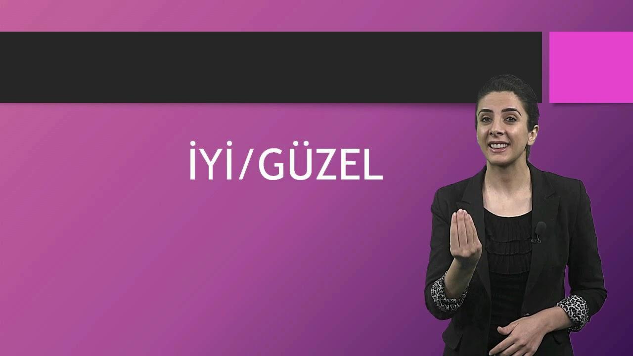 Türk İşaret Dili Ortaokul Videoları-1