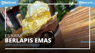 Disajikan Mewah Berlapis Emas, Es Krim Godiva Dijual Mulai Rp125 Ribuan, Seperti Apa Rasanya?
