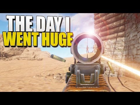 THE DAY I WENT HUGE (Rust Solo Survival) #58