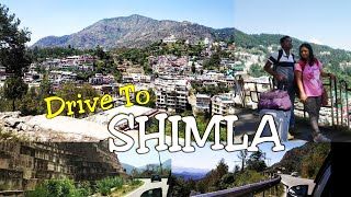 Road Trip to Shimla | Best Valley View | Ambala to Shimla | Travel Himachal Pradesh