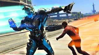 THE FLASH vs SAVITAR, THE GOD OF SPEED!! (GTA 5 Mods, Superhero Battles #9)