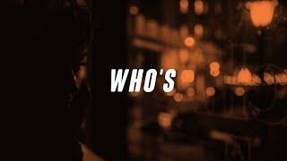 Jacquees   Who's  (Lyrics  Lyric Video)