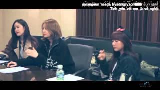 [Vietsub + Kara] First Love - T-ara