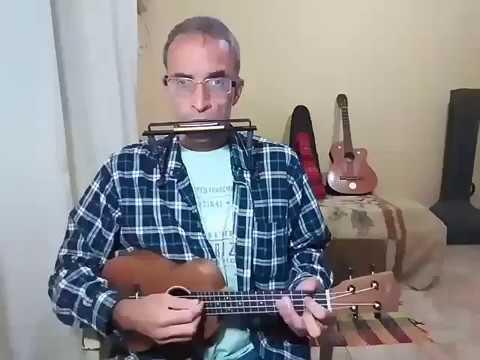 Amazing Grace (Ukulele and harmonica country version by Krishna Simpson).