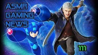 ASMR Gaming News (111) Kingdom Hearts 3, Devil May Cry 5, Resident Evil 2, Fortnite Nintendo + More