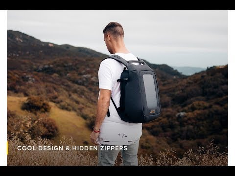 SET Numi Smart Travel Backpack-GadgetAny