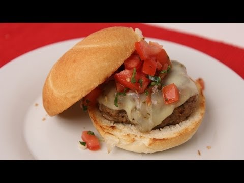 Tex Mex Turkey Burger Recipe – Laura Vitale – Laura in the Kitchen Episode 435