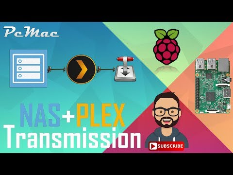 NAS, Transmission and Plex Media Server All in One Setup